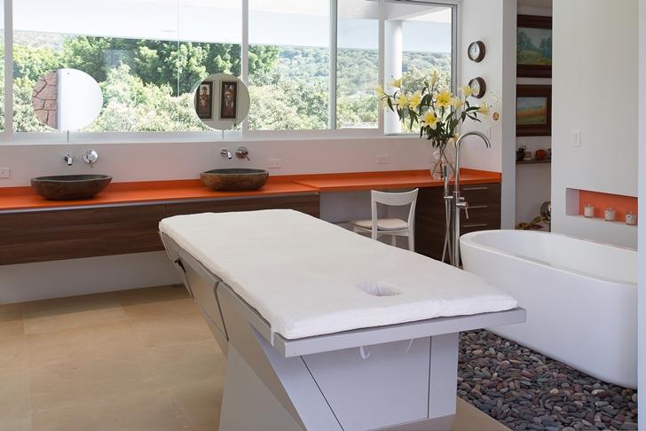 Massage room in Casa del Viento by A-oo1 Taller de Arquitectura