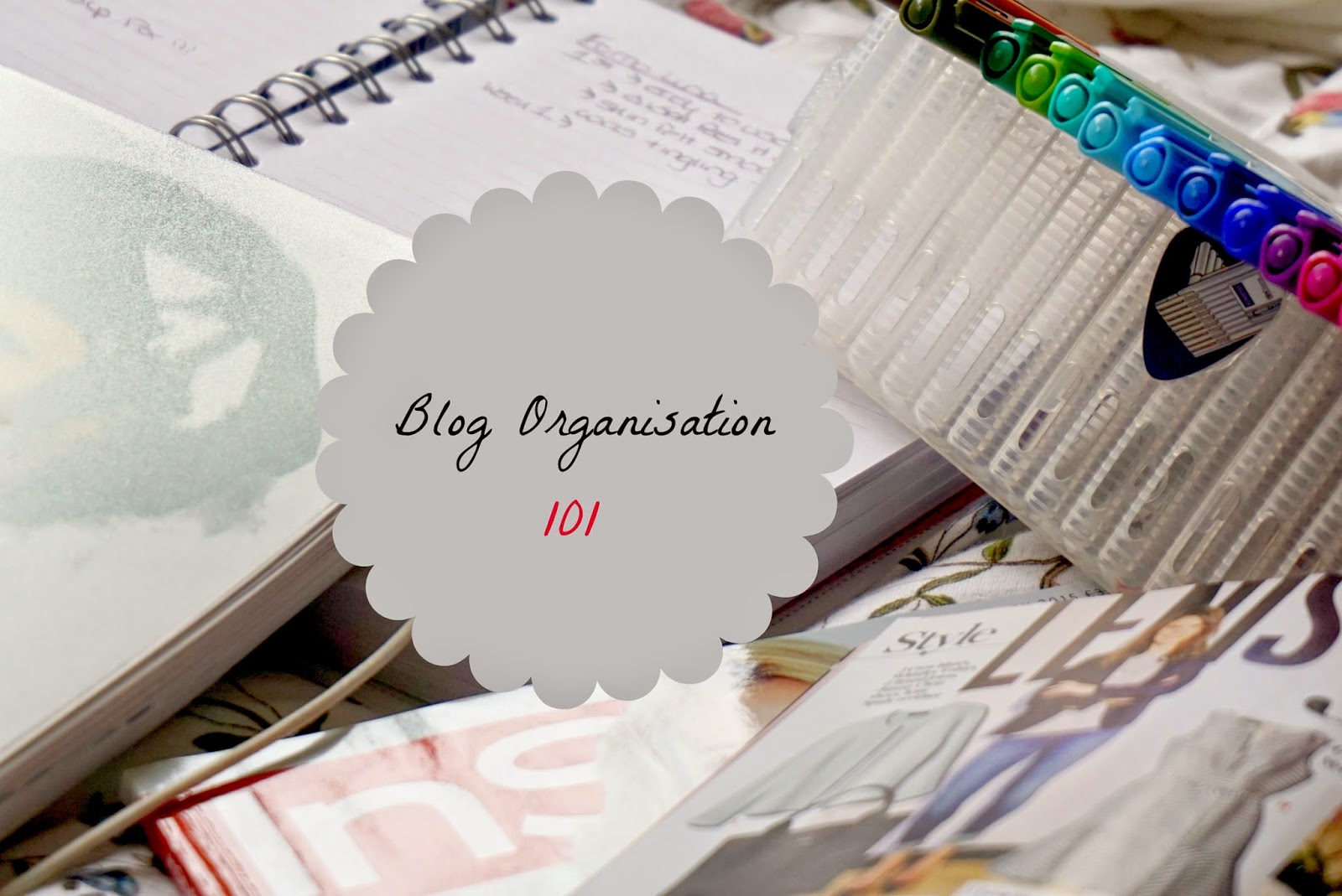 How to organise your blog