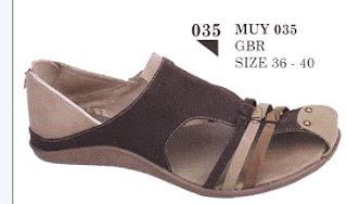 contoh model sandal wanita 2011