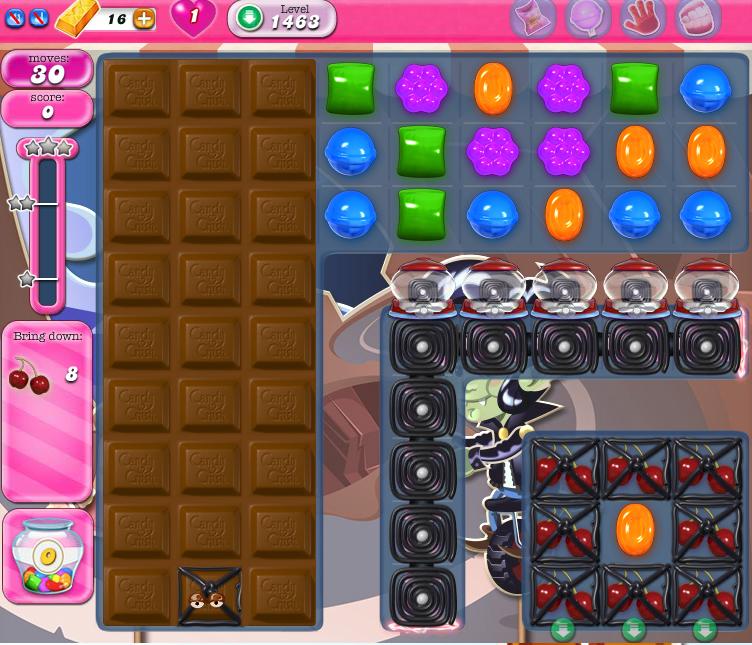 Candy Crush Saga 1463