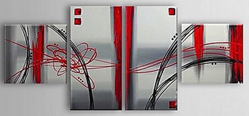 Cuadros modernos pinturas y dibujos cuadros tr pticos for Fotos cuadros abstractos modernos