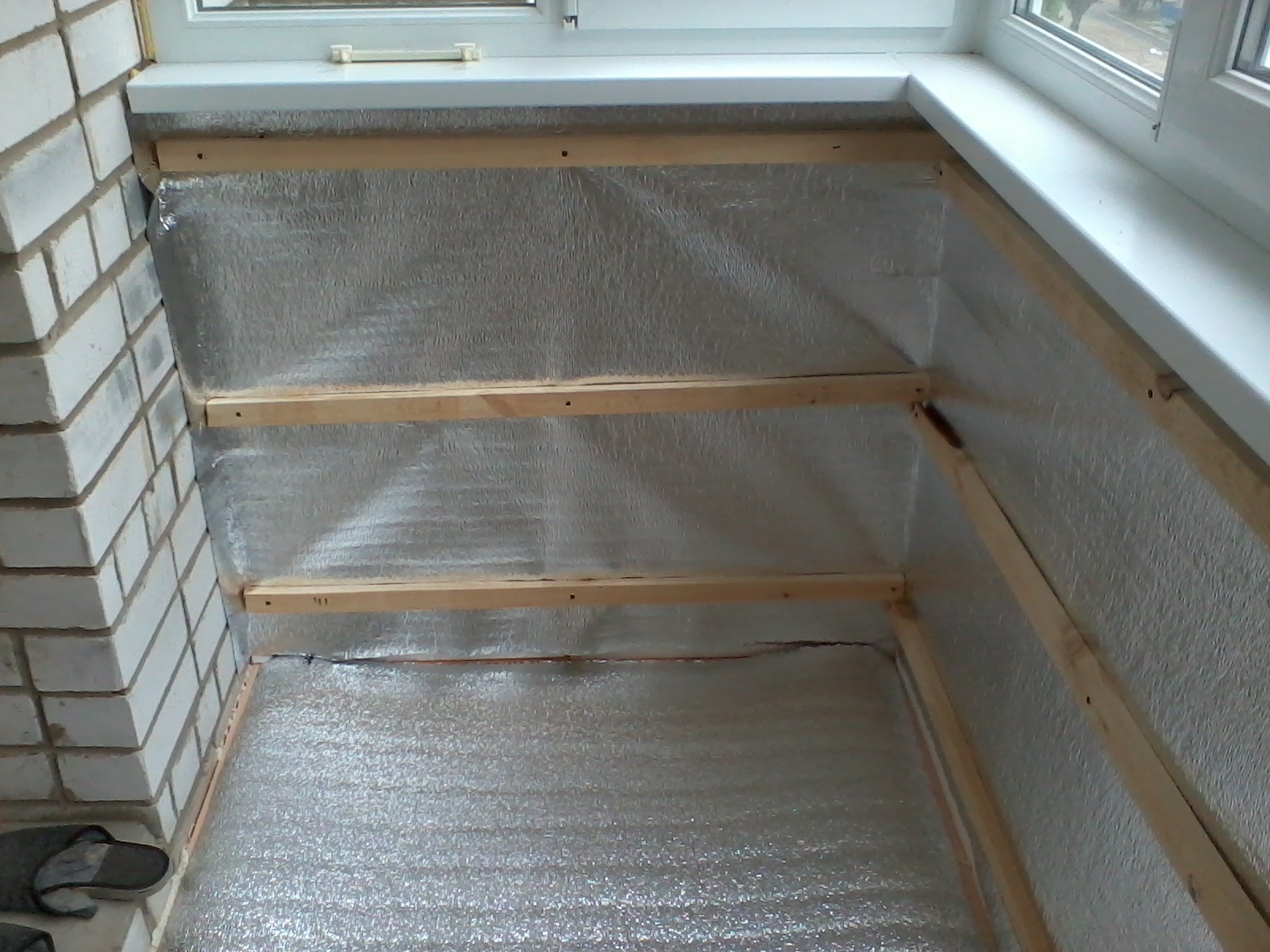Блог yurik13: утепление балкона.