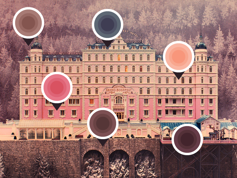 Wes anderson inspired interiors b notes of inspiration for Hotel decor inspiration