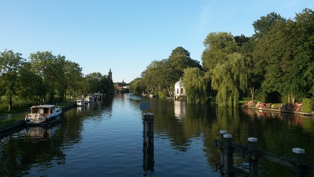 Visit another city outside Amsterdam, Loenen aan de Vecht