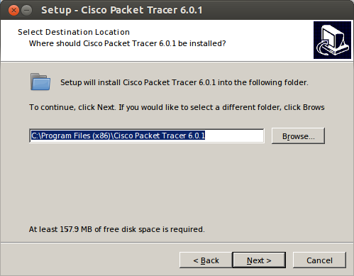 DriveMeca instalando Cisco Packet Tracer en Ubuntu