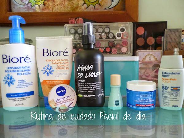 Rutina de cuidado facial de día