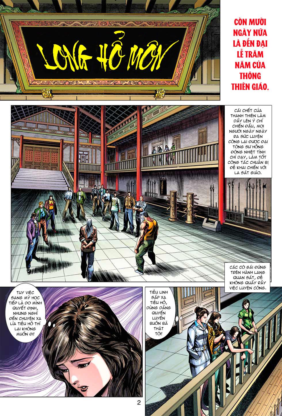 Tân Tác Long Hổ Môn chap 369 - Trang 2