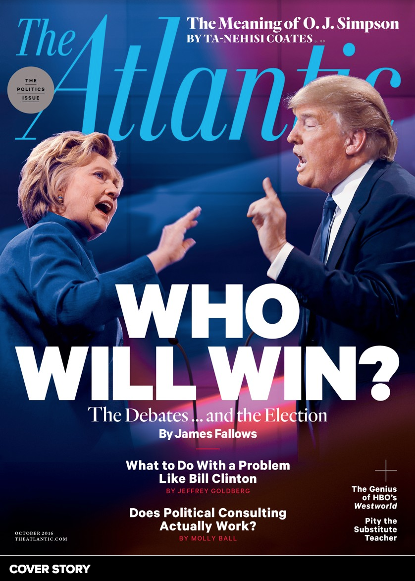 "My Contribution re: The Presidential Debates in ""The Atlantic"" Magazine"