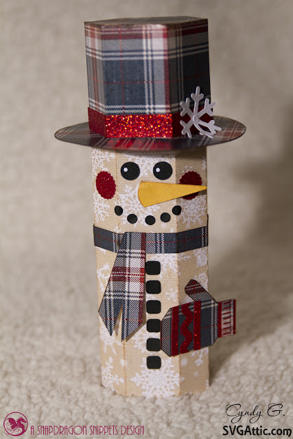 Snowman canister
