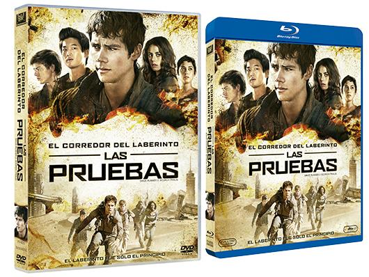 A la venta 'El corredor del laberinto: Las pruebas' en DVD y Blu-ray