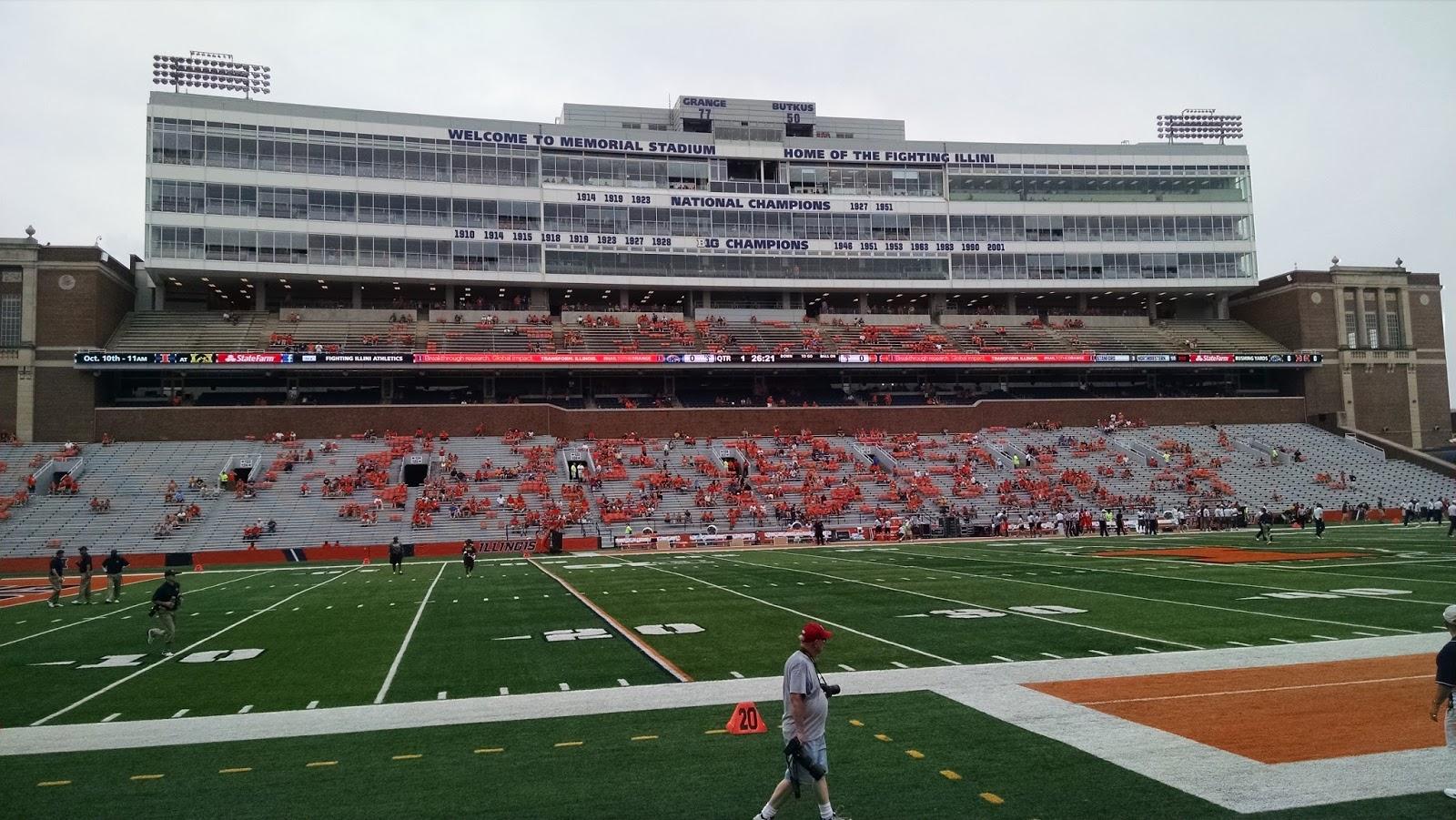 Memorial Stadium Illinois