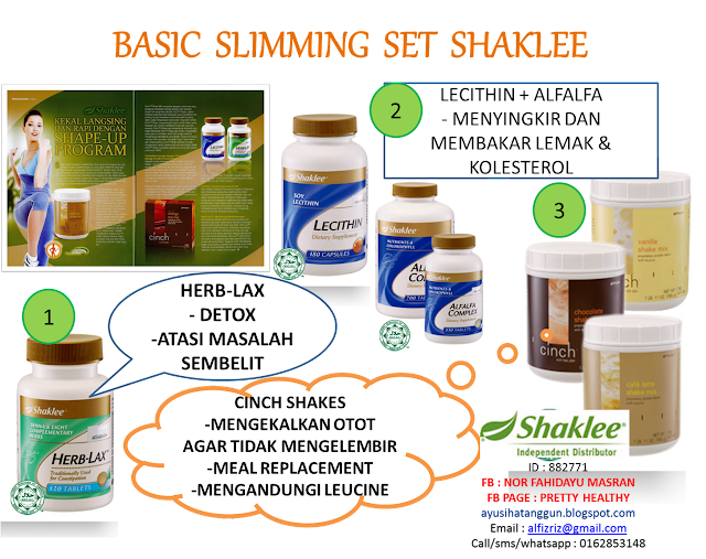 slimming set shaklee