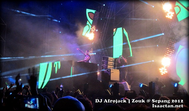 DJ AFROJACK Zouk @ Sepang International Circuit 2012