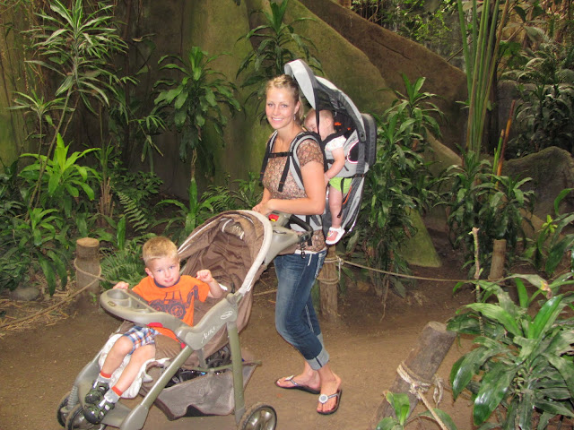 We love going to the zoo!