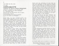 Bidprentje Albert Pouleyn 1893-1993