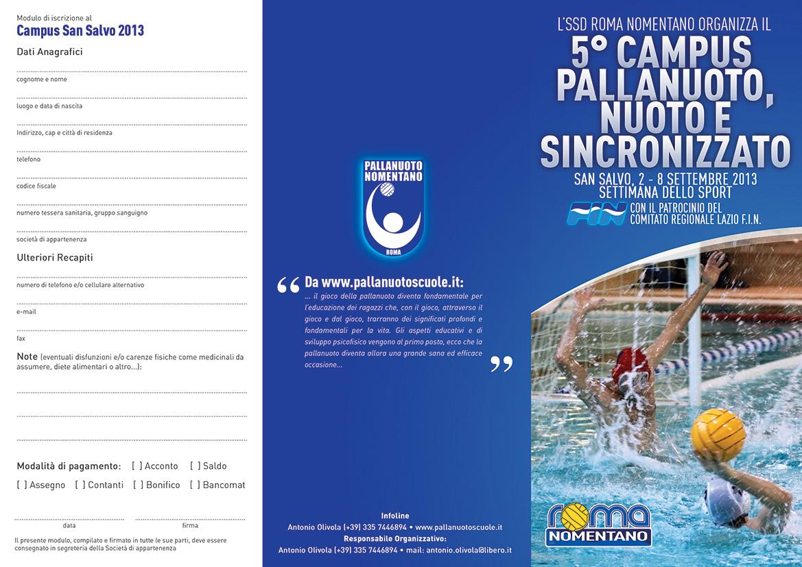 Waterpolo roma nomentano marzo 2013 for Piscina zero9 roma