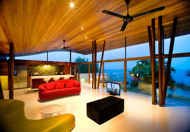 color contrast interior and exterior