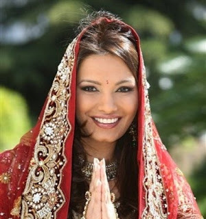 Hot Diana Hayden Bridal Photoshoot