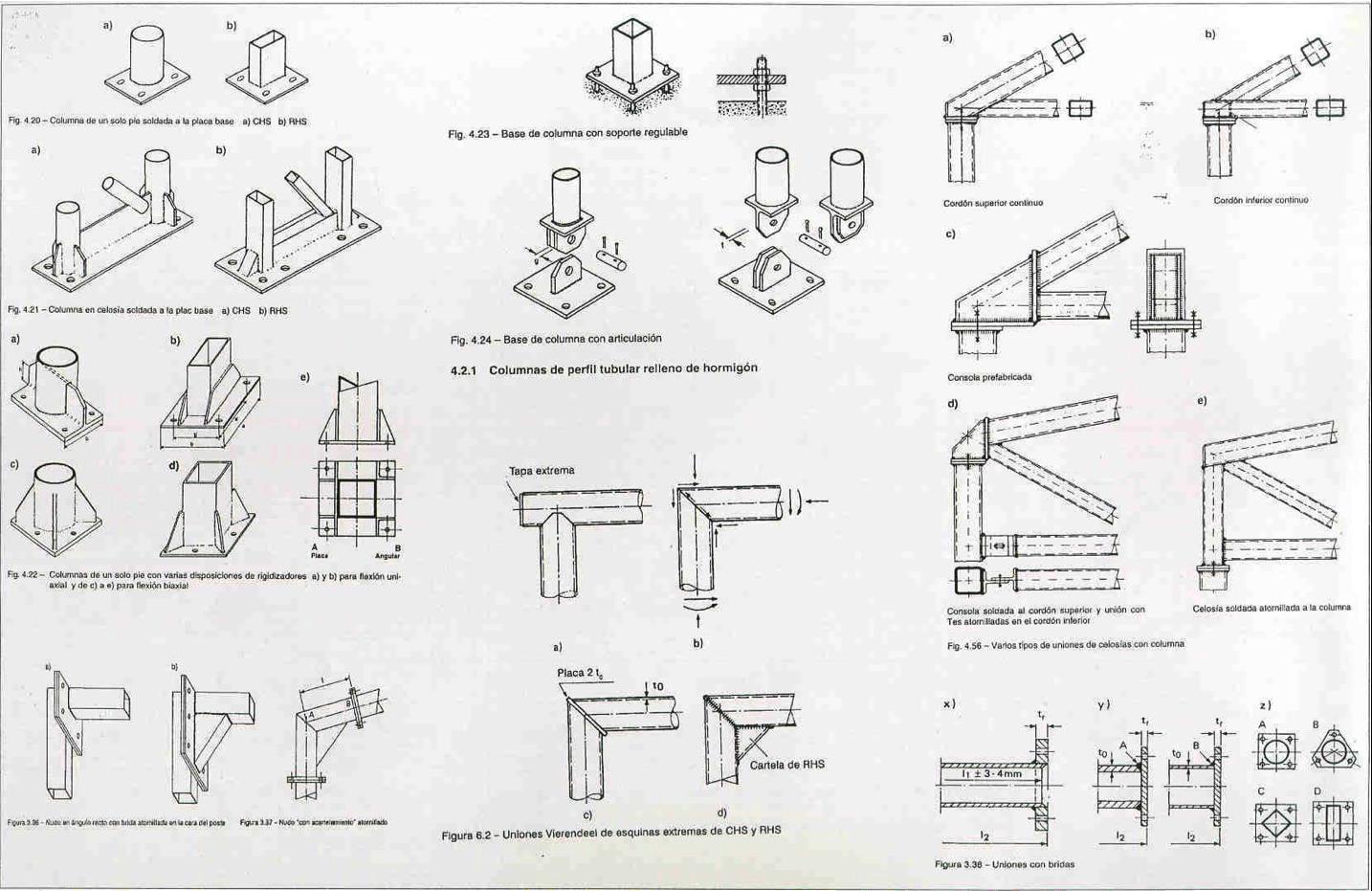 Tipos de estructuras metalicas latest imagen planos de - Tipos de vigas metalicas ...