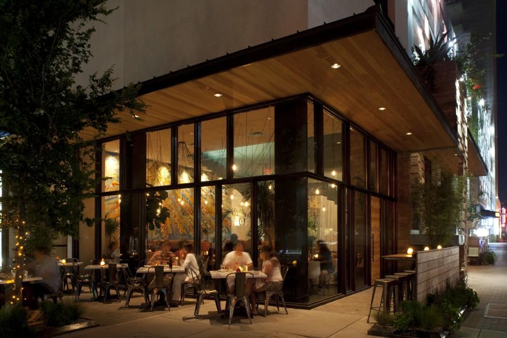 Best Restaurant Interior Design Ideas: Mexican restaurant La Condesa, Austin, USA (+plan)