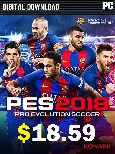 Pro Evolution Soccer 2018 PC - Standar Edition