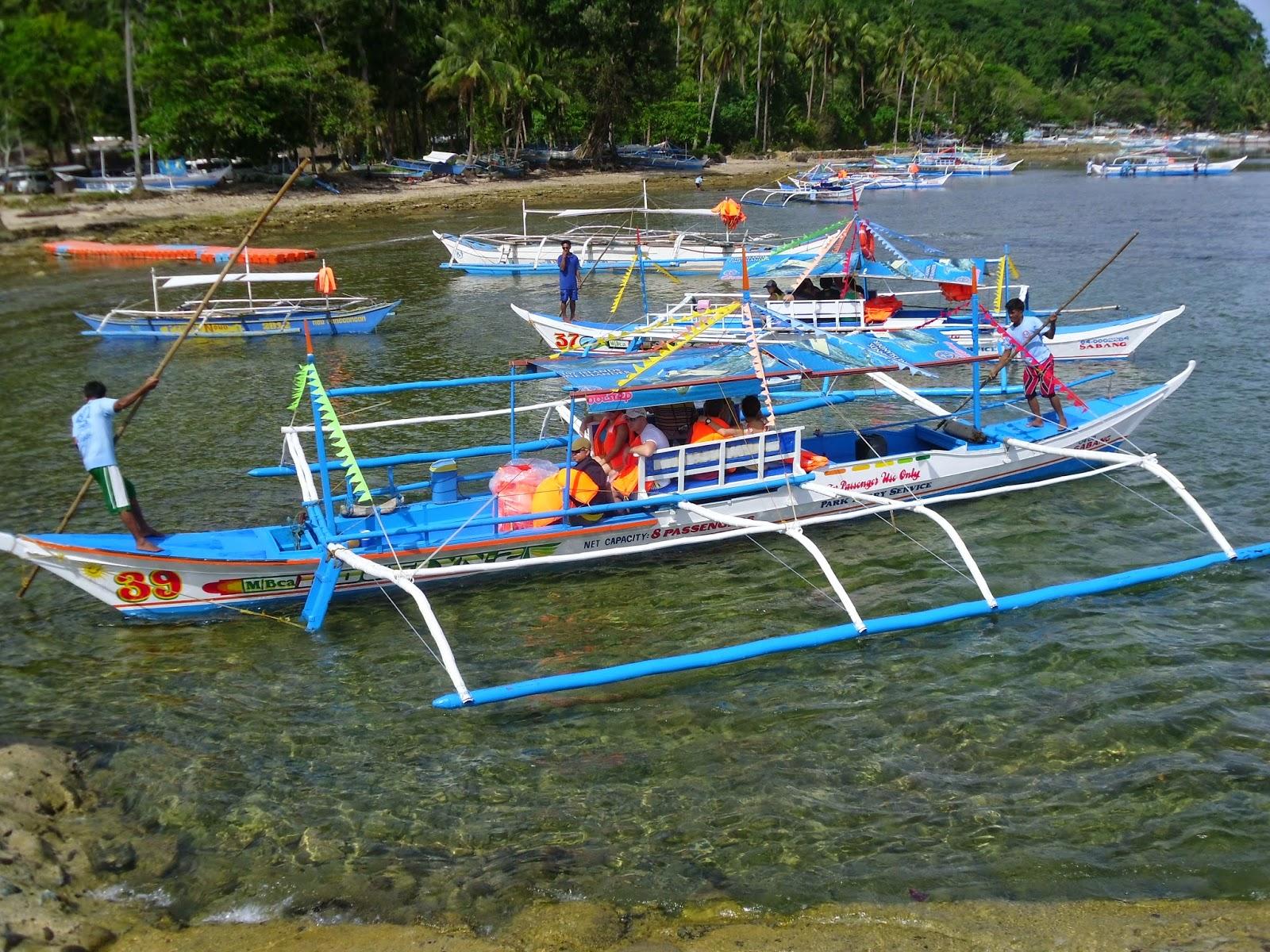 Barcos de El Nido