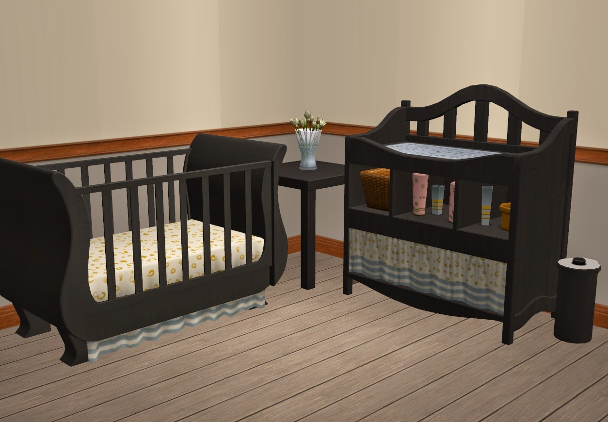 Theninthwavesims The Sims 2 Freetime Changing Table In