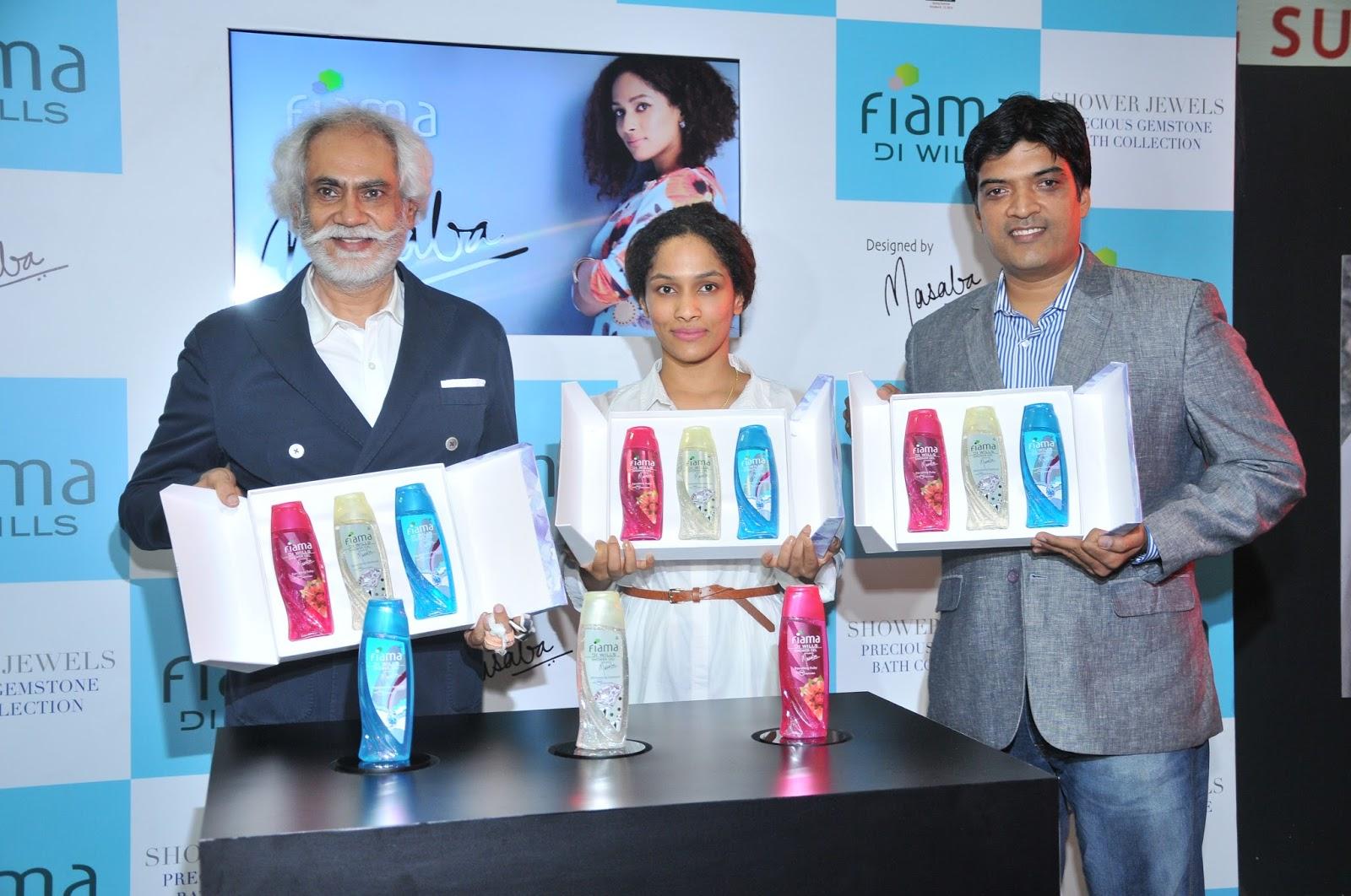 PR:Fiama Di Wills launches 'Shower Jewels' by Masaba Gupta
