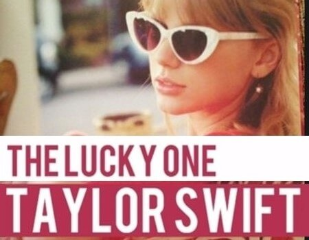 The Lucky One Guitar Song - Taylor Swift-