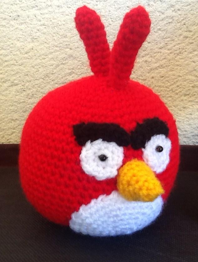 Patron Angry Birds Amigurumi : Sweet Dollies: AMIGURUMI ANGRY BIRD ROJO Y VERDE