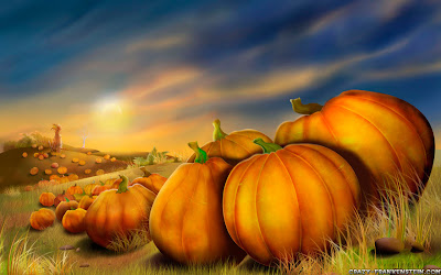 Free Thanksgiving PowerPoint Background 32