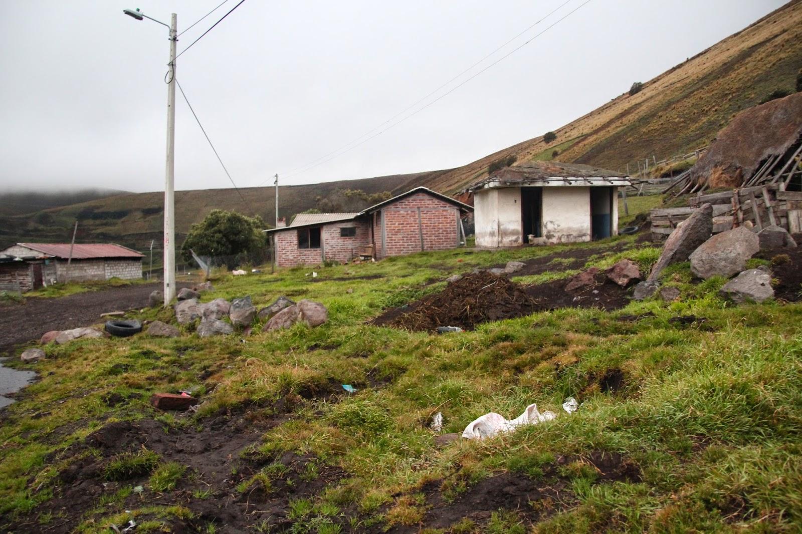 mountainside chimborazo volcano ecuador