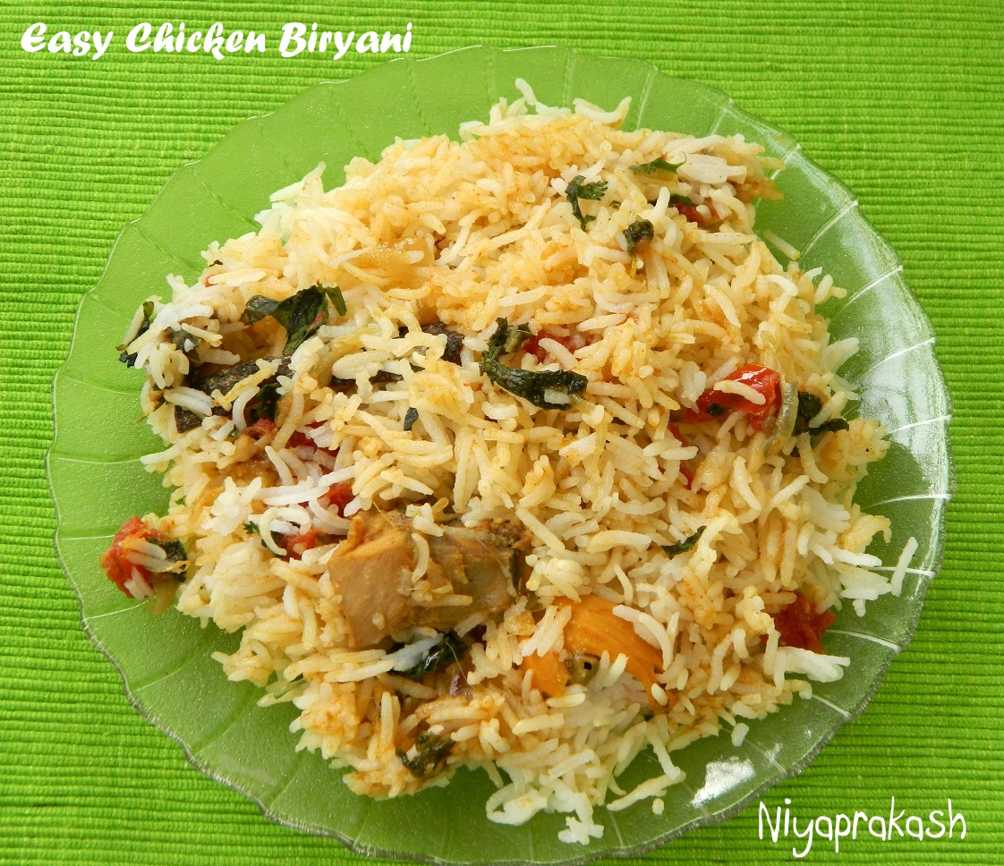 Niyas World Easy Chicken Biryani