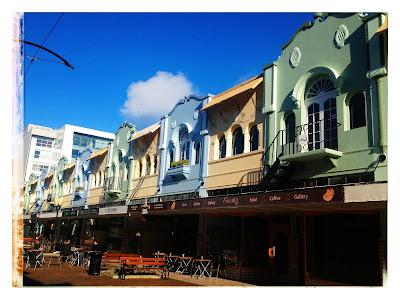 Casas de coleres New Regent Street, Christchurch