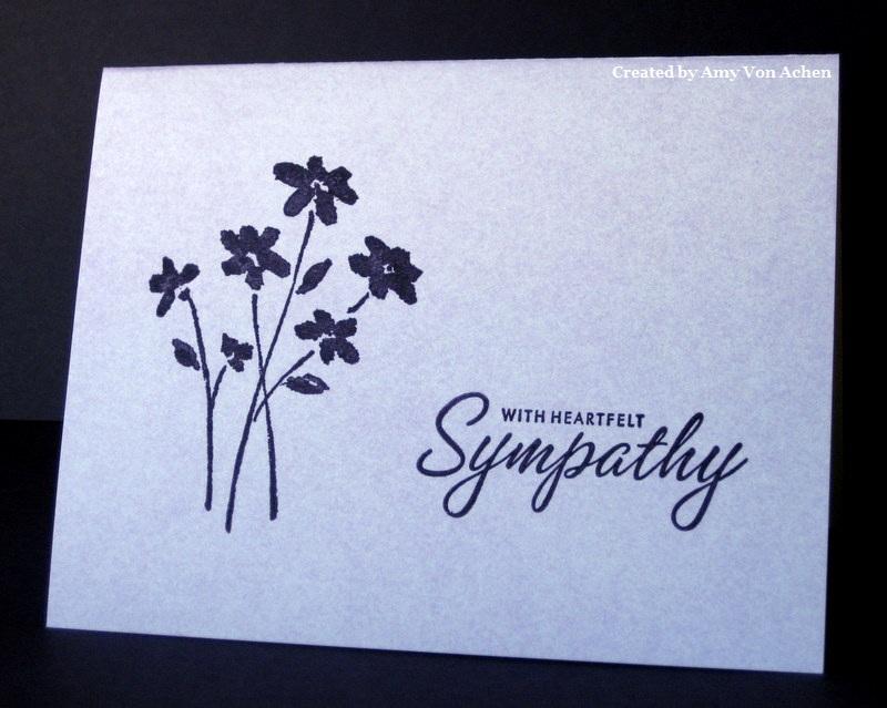 Sympathy Card Ideas To Make Part - 26: Simple Sympathy Cards