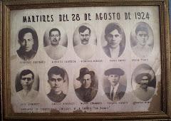 90 Aniversario luctuoso. Historia (oficial) de los Mártires del 28 de Agosto de 1924.