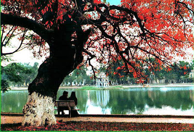 Hoan Kiem Lake - The pearl of Hanoi