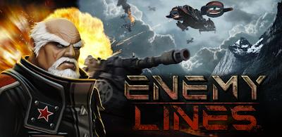 تحميل لعبة خطوط العدو لعبة استراتيجية مميزة جداً للاندرويد والهواتف الذكية Enemy Lines2.0.apk