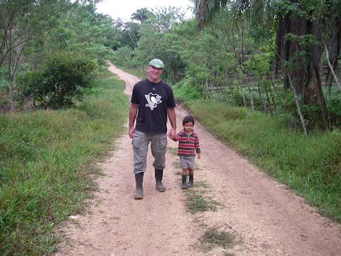 Avec le petit Anghel