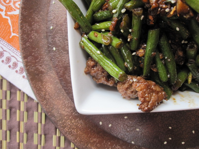 Stirring the Pot: Stir-Fried Green Beans with Pork and Garlic