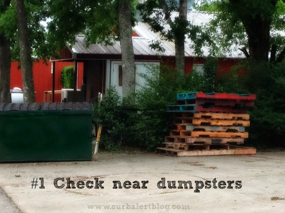 Five Easy Ways to Score Free Pallets by Curb Alert! Dumpsters via www.curbalertblog.com