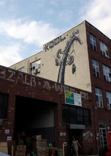Street Art By Phlegm In Bushwick, Brooklyn. 8