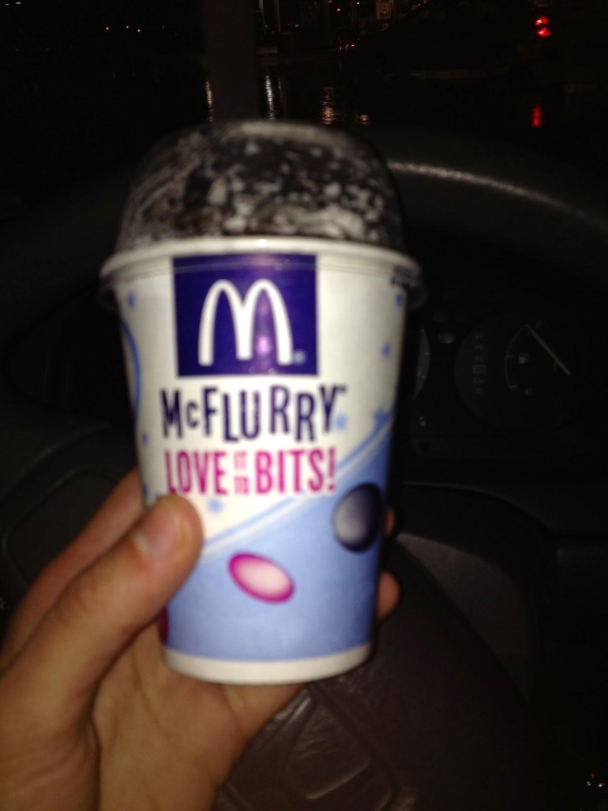 The Big Muddy Ice Cream Blog: McDonald's Oreo McFlurry