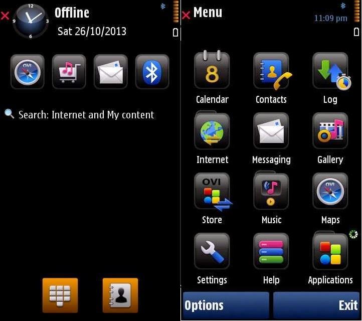 Latest themes for Nokia 5800 XpressMusic