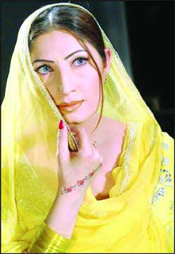 Saima has been working in Lollywood films since her young age, she is