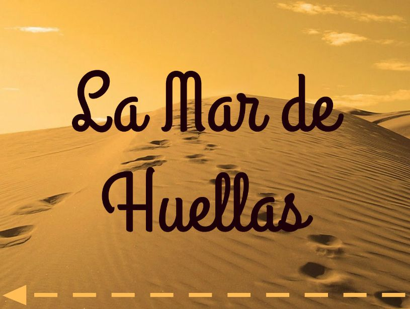 LA MAR DE HUELLAS