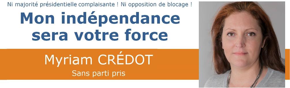 Myriam CRÉDOT - Législatives 2017