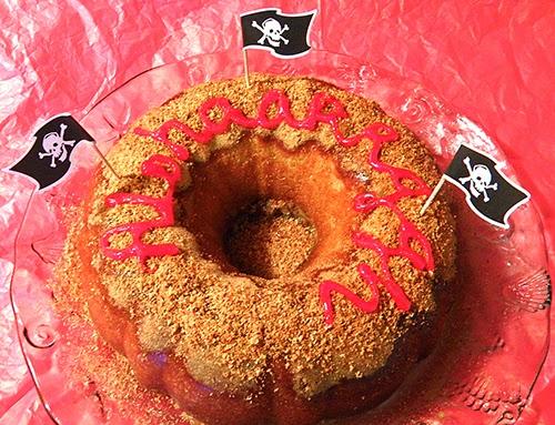 Whole Pineapple Rum Cake