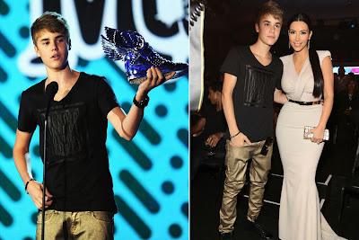 Justin Bieber ganha prêmio da Música