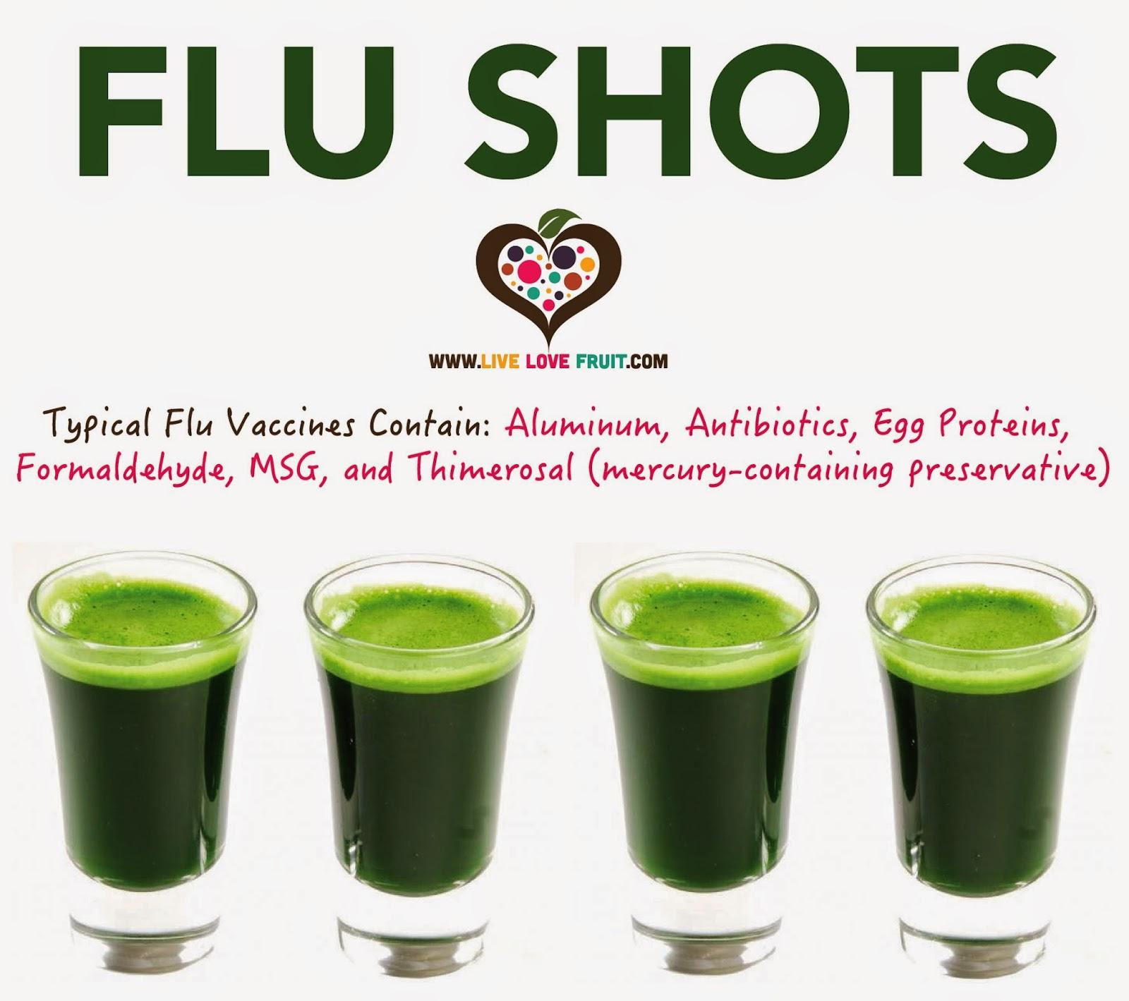 Flu Shot Drink Recipe